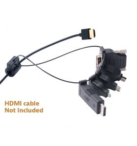 Liberty DL-AR Universal HDMI Adapter Ring Complete Assembly with 5 Adapters